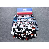 Wholesale gray underpants for sale - Group buy Fashion Brand Underpant FA Male Panties Cotton Men s Underwear Boxers Breathable Man Boxer Solid Printing Comfortable Brand Shorts