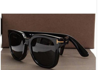 Wholesale new sunglasses for boys resale online - luxury top big qualtiy New Fashion Tom Sunglasses For Man Woman Erika Eyewear ford Designer Brand Sun Glasses with orig tom I542