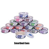 kräuterpatronen großhandel-Smartbud leere Blechdosen 15 Geschmacksrichtungen 3,5 Gramm Bio Smart Bud Carts Einmachglas Behälter für trockene Kräuterblumen Vape-Kartuschenverpackungen