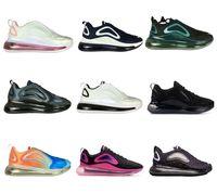 kırmızı nokta ayakkabılar toptan satış-Erkek kadın eğitmenler koşu ayakkabı sneakers yeni 2019 siyah sarı nokta beyaz kırmızı gri Örgü süper hafif kutusu ile