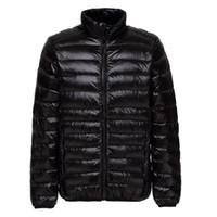 Wholesale long parka for man down jacket for sale – warmest winter New Men Winter Jacket Ultra Light White Duck Down Jackets Casual Portable Winter Coat for Men Plus Size Down Parkas XL