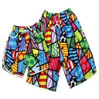 amoureux de maillots de bain achat en gros de-MISSKY 2pcs / set Lovers Shorts Beach Maillots de bain 2019 Hommes Femmes Board Short Femmes Bikini Ensembles Maillots de bain à séchage rapide