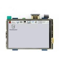 vídeo de toque real venda por atacado-Tela de toque LCD HD USB USB de 3,5 polegadas Real HD 1920x1080 Display LCD para Raspberri 3 Modelo B / Pi laranja (Video Game Play) MPI3508