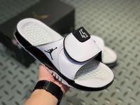 chinelos de sapato de basquete venda por atacado-Jumpman Concord 45 11 sandálias de grife Mens 13s slides HYDRO Verão Plana Sapatos de Basquete Branco preto mulheres RETRO Chinelo de Praia Flip Flop