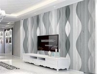 Wholesale kids room wallpaper free shipping resale online - Home Decor d Wallpaper HD Atmospheric Geometric Marble Living Room Bedroom Background Wall paper