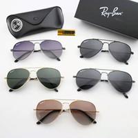 güneş gözlüğü toptan satış-Patlayıcı Erkek Polarize Katlanabilir Bellek Çerçeve Renkli Film Serisi Sürüş Balıkçılık Güneş Gözlüğü + Kutu Kiti
