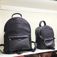 Wholesale bag packs resale online - large backpack for women orignal Genuine leather designer back pack for men shoulder bag handbag presbyopic package messenger bag
