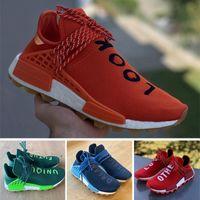 ingrosso scarpe da corsa unici-2020 Guardare dentro il genere umano Mens trail Running Shoes amare gli altri scarpe sportive uniche futuri sogni Vision Uomini Donne Pharrell Williams HU