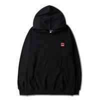 homens hoodie coreia venda por atacado-Além de veludo primavera e outono homens e mulheres camisola estilo coreano com capuz solto longo casaco masculino maré Hoodies das mulheres tamanho s-2xl