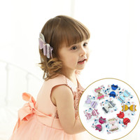 b2f500fda8bf Girls Hair Clip Leather Double Layer Glitter Big Bow Side Clip Baby Hair  Accessories Kids Headwear 41