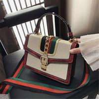 Wholesale restore ancient ways handbags resale online - Womens Luxury Designer Bag Handbags Luxury Designer Womens Shoulder Bags Color Collision Restoring Ancient Ways Chain Decoration Fashion