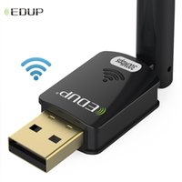 Wholesale wifi receiver for laptop for sale - Group buy Cheap Network Cards EDUP Dongle USB Ethernet Adapter Wireless USB WiFi Adapter Mbps n dBi Ghz WiFi Receiver for PC Laptop