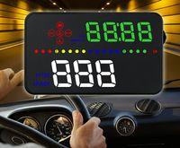 Wholesale dvr alarm resale online - Vikewe A300 HUD Head Up Display Car styling Hud Display Overspeed Warning Windshield Projector Alarm System Universal Auto car dvr