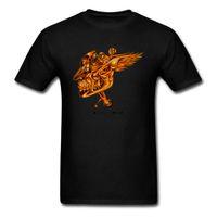 дизайн панк-майка оптовых-3D череп печати футболка мужская футболки панк дизайн футболки Оптовая черная одежда негабаритных хлопок топы тис Geek шик