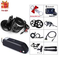 BBS03 Bafang 52V 1000W 100mm 120mm Mid Drive Motor Conversion Kit with 52V 14Ah Electric Bike Battery with US UK EU AU Charger