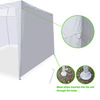 Wholesale events tent resale online - 10 x Outdoor Gazebo Party Tent w Side Walls Wedding Canopy Cater Events