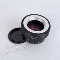 Wholesale Mitakon Zhongyi Lens Turbo II Focal Reducer Adapter for M42 Mount Lens to FX Mount Camera X Pro2 X T3 X T2 T1
