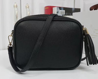 Wholesale brown leather fringed bag resale online - women Handbags High Quality Wallet Famous handbag womens Handbags bags Crossbody Soho Bag Disco Shoulder Bag Fringed bag Purse
