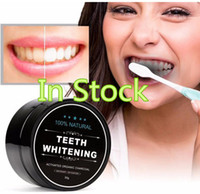 Wholesale whitening powders resale online - Daily Use Teeth Whitening Scaling Powder Oral Hygiene Cleaning Packing Premium Activated Bamboo Charcoal Powder Teeth white
