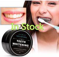 blanqueamiento dental al por mayor-Uso diario Blanqueamiento dental Polvo de escalamiento Higiene bucal Limpieza Embalaje Premium Activated Bamboo Charcoal Powder Teeth white