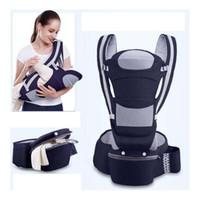 honda usada al por mayor-Nuevo producto Baby Sling Waist Stool Tres-en-uno Back Baby con luz Multi-Function Waist Stool Belt Cinturón de doble uso Back