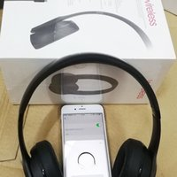 Wholesale cell phone earphones online - So3 with W1 Wireless Headphone Stereo Bluetooth Headsets earbuds with Mic Earphone Bluetooth Wireless Headphone ship DHL