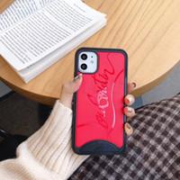 Wholesale stylish phones resale online - Stylish Sole Design Phone Case for IPhone Pro Pro Plus plus s Plus Hard Back PC TPU Edge Protection Cover