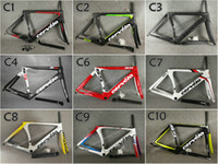 Wholesale carbon frame road bicycle 58cm for sale - T1000 UD Glossy Matte Cervelo S5 carbon road frames Bicycle Frameset with cm colors for selection