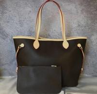 Wholesale red plaid handbags for sale - Group buy Fashion handbags ladies leather handbag wallet brand designer shoulder bag ladies new shopping bag