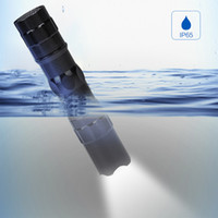 mini lanternas táticas venda por atacado-Alta Poderosa Mini lanterna LED chaveiro luz do flash à prova d 'água pequena lâmpada de bolso Tocha lâmpadas Tático para acampamento ao ar livre