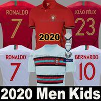 takımlar için futbol formaları toptan satış-2020 2021 Portekiz futbol forması soccer jersey football shirts RONALDO ANDRE SILVA Dünya kupası 2018 PEPE J.MARIO QUARESMA BERNARDO NANI EDER milli takım iyi Tayland kalite