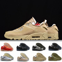 Wholesale 90 trainer resale online - 2019 Men Running Shoes s Trainers classic Sports Chaussures Virgil Designer World cup Triple White Black air Red off Sneakers