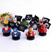 Wholesale accessories for action figures resale online - High Quality Avengers Action Figures Doll Decoration Accessories Inch Avengers Gauntlet Game Doll Toys Best Gifts For Kids