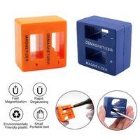 tornavida mıknatıslayıcı toptan satış-1 Adet İşlevli Mini Magnetizerin Demagnetizer Tornavidalar özel mıknatıslayıcı Şarj azaltma Degaussing Taşınabilir Küçük Aletler