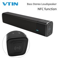 Wholesale portable speaker nfc for sale - Group buy VTIN Wireless Soundbar Bluetooth Speaker Portable Soundbar Super Bass Stereo Speaker Long standby with Bluetooth Touch NFC