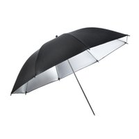 ingrosso kit ombrello foto-Studio fotografico Standard Flash Diffusore Pro Camera Flash Light Ombrello Riflettore riflettente Photo Studio Lighting Kit