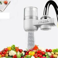purificador de cartucho venda por atacado-Tap filtro de água torneira Filtro de Água Início Cozinha Saudável cartucho cerâmico da torneira Purificador de Água filtro para 40pcs Household ZZA1379-3