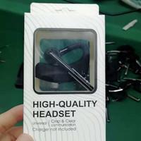 caja de paquetes de auriculares al por mayor-Alta calidad Auriculares Bluetooth Auriculares CSR4.2 Auriculares estéreo empresariales con micrófono Auricular de voz universal inalámbrico con paquete de caja