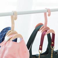 neue haushaltsgegenstände großhandel-New Fashion Home Convenience Kleiderbügel Closet Organizer Rod Kleiderbügel Haushaltsgegenstände