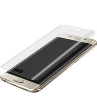 iphone vollbildschirm großhandel-Für iphone x xr xs xs max 6 6 s 7 8 plus weiche haustier klar film schutz 3d gebogene full cover displayschutzfolie kurve 500 teile / los