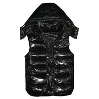 clássico homens inverno casacos venda por atacado-New Designer Homens e mulheres de inverno para baixo do colete jaquetas weskit clássico de penas mulheres casaco coletes casuais