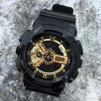 minion de oro al por mayor-2019 llegada de moda para hombre estilo G Relojes de pulsera multifunción LED Digital Shock cuarzo relojes deportivos para hombres hombres estudiantes reloj