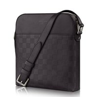 Wholesale quality canvas briefcases for sale - Group buy High quality Genuine leather N23355 Men Messenger Bags Shoulder Belt Bag Totes Portfolio Briefcases Duffle Luggage