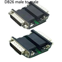 Wholesale serial board for sale - Group buy Freeshipping Pin DB26 Male Female to DB26 Male Serial Port Terminal Signals Module Breakout Board Connector