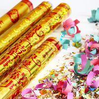 Wholesale decorative gun resale online - Manufacturers Popular Firework Gun Salute bel normande xi shi Married Festive Supplies Holiday Wedding Decorative Open
