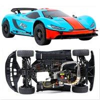 motor nitro para rc al por mayor-1/5 Escala ROFUN F5 36cc Motor de gasolina 4WD RC Drift Flat Car Sport Rally Car Totalmente compatible con MCD XS-5