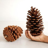 Wholesale pine tree decoration for sale - Group buy Big Tree Hanging Pendant Pine Cones Christmas Party Decoration Ornament Decor for Home Christmas Supplies cm