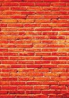 pared de ladrillo prop al por mayor-Shengyongbao Vinilo Fotografía Personalizada Telones de Fondo Prop digital impresa Vertical Ladrillo de Madera Tablón de madera tema Photo Studio Fondo 18418-103