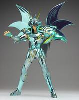 figura do zodíaco venda por atacado-BANDAI SOG Draco Shiryu deus Saint Seiya cavaleiros do zodíaco action figure toy