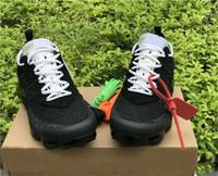 vapor melhor venda por atacado-2018 atacado vapores de melhor venda 2.0 branco preto designers homens mulher choque shoes moda mens running shoes tamanho 36-45